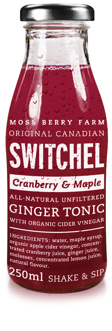 cranberry maple switchel