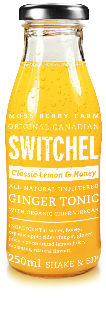 classic lemon honey switchel