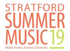 Stratford Summer Music Festival 2019 logo
