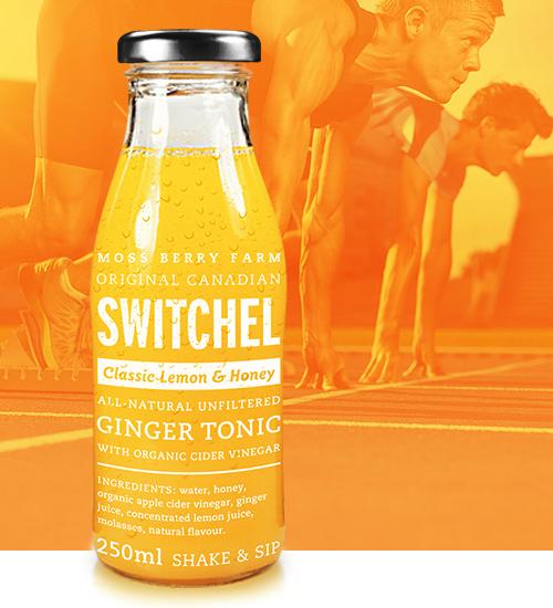 lemon honey switchel